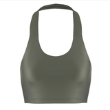 Outfyt Activewear Olive / XS Olive Iris Crop Top