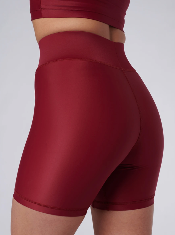 Outfyt Activewear Wine / XS Wine Cora Bicycle Shorts