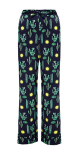 PHOEBE GRACE Trousers HETTIE Straight Leg Trouser with a turn-up in Black Cactus
