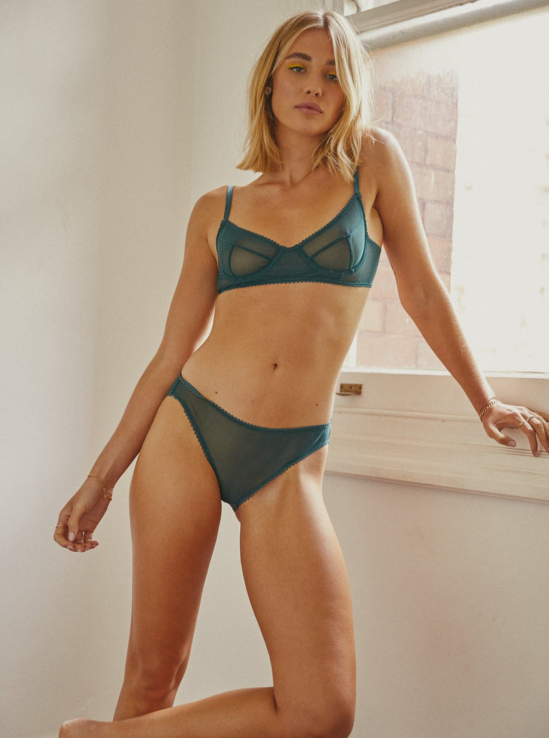 Saturday the Label Briefs Moss Green Chloé Briefs