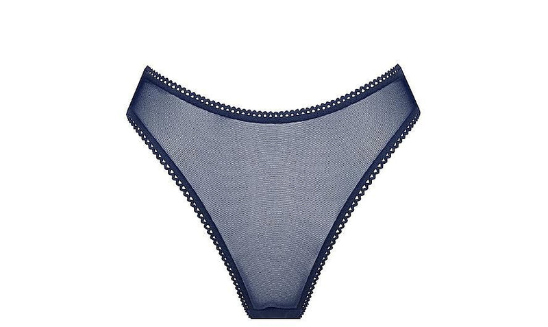 Saturday the Label Lingerie 1 Blueberry Summer Solstice Brief