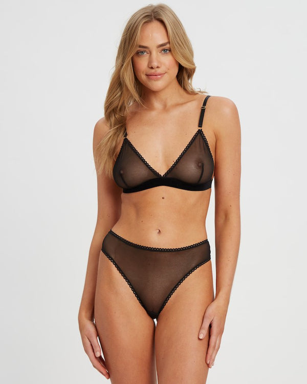 Saturday the Label Lingerie Black Saturday G-string