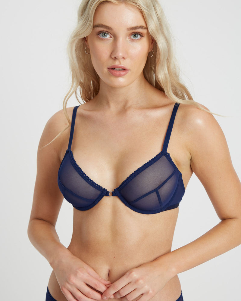 Saturday the Label Lingerie Blueberry Summer Solstice Bra