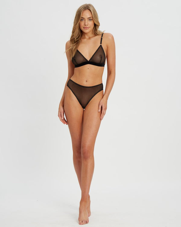 Saturday the Label Lingerie Gray Goddess G-string