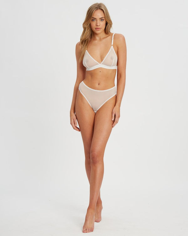 Saturday the Label Lingerie White Saturday G-string