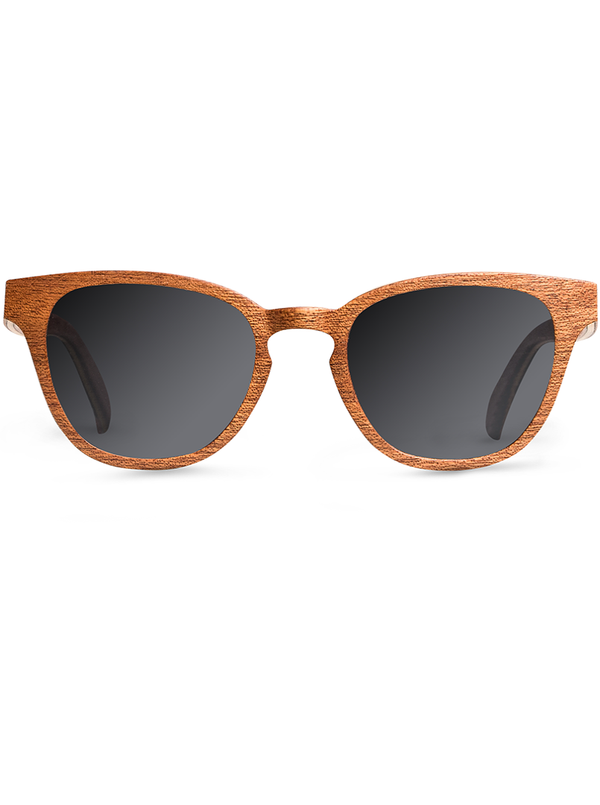 shopwoodie Sunglasses Sapele Wood / Black / 40*20*138 mm Nel