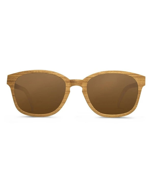 shopwoodie Sunglasses Teak Wood / Light Brown / 49*22*136 mm Shore