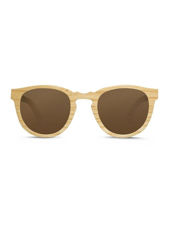 shopwoodie Sunglasses White Ashwood / Light Brown / 50.5*22*140 mm Switch
