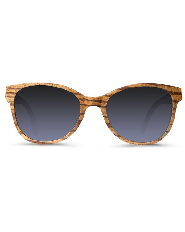 shopwoodie Sunglasses Zebra Wood / Black / 50*22*145 mm Bloom