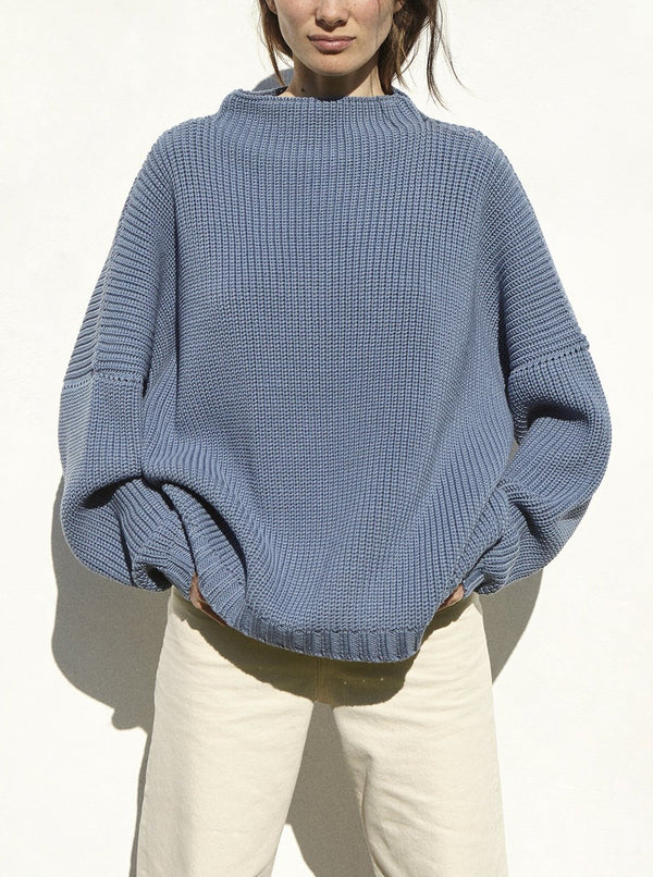 The Knotty Ones Sweaters Baltic Blue / One Size Laumֿes Sweater