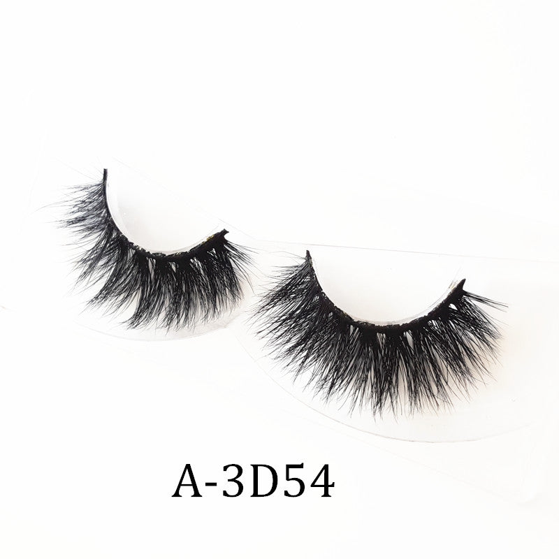 3D Real Mink Eyelashes 15-18MM A-3D54 [Sample] - Ada Lashes