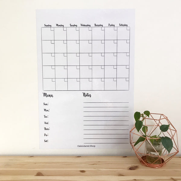Wall Dot Monthly Planner
