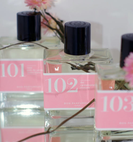 Floral perfumes 101 102 and 103