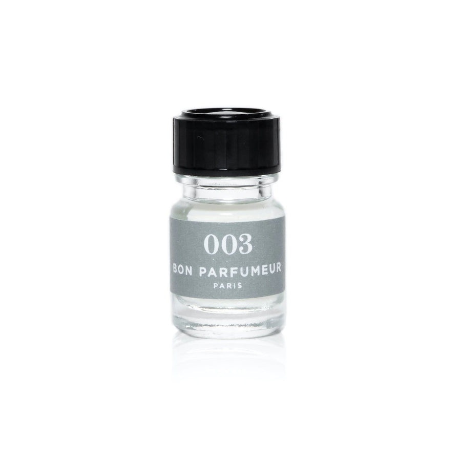 Minishot 2.5ml Bon Parfumeur 003: yuzu, violet leaves, vetiver