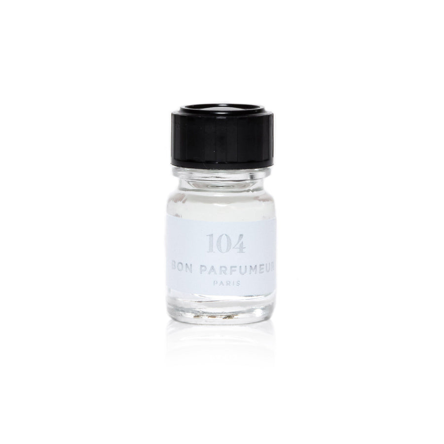 Minishot 2.5ml Bon Parfumeur 104: green orange / hyacinth / ivy