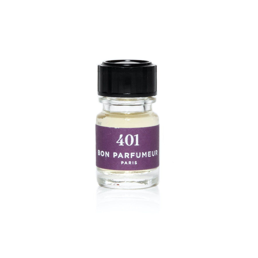 Minishot 2.5ml Bon Parfumeur 401: cedar, candied plum, vanilla