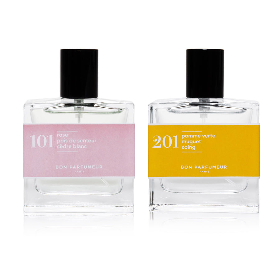 101 rose sweet pea patchouli 201 Granny smith lily-of-the-valley pear Mix and match 30ml