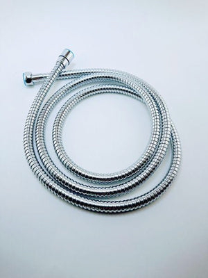 Handheld Shower Hose - 80 Inches, Flexible with Chrome Finish