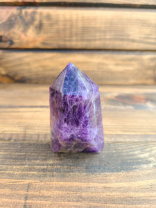 Polished Amethyst Point
