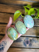 Ruby Fuchsite Palm Stones