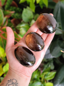 Smoky Quartz Palm Stones