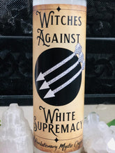 Witches Against White Supremacy Spell Candle