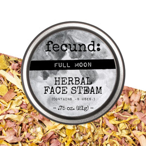 """Full Moon"" Herbal Face Steam"