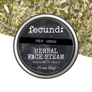 """New Moon"" Herbal Face Steam"