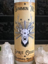 Summon My Spirit Guides Spell Candle