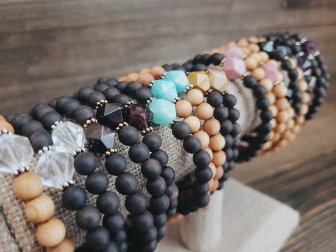 Crystal Mini Stacker Bracelets