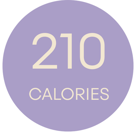BIRTHDAY CAKE CALORIES 210G