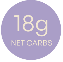 BIRTHDAY CAKE NET CARBS 18G