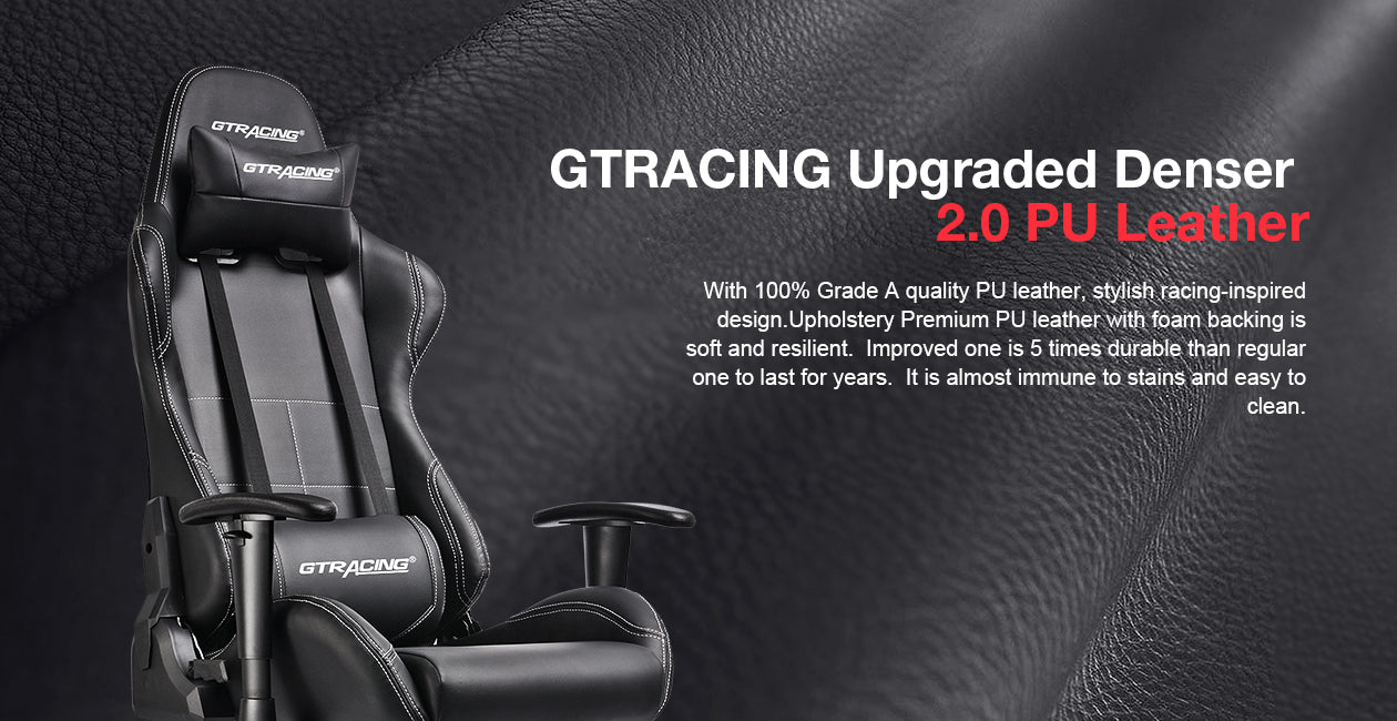 Gtbee Black Reclining Gaming Chair Gtracing