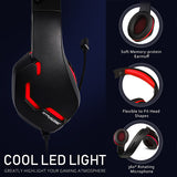 Gaming Gear // Gaming Headset F8-RED - GTRACING