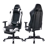 Footrest Series // GT901-WHITE - GTRACING