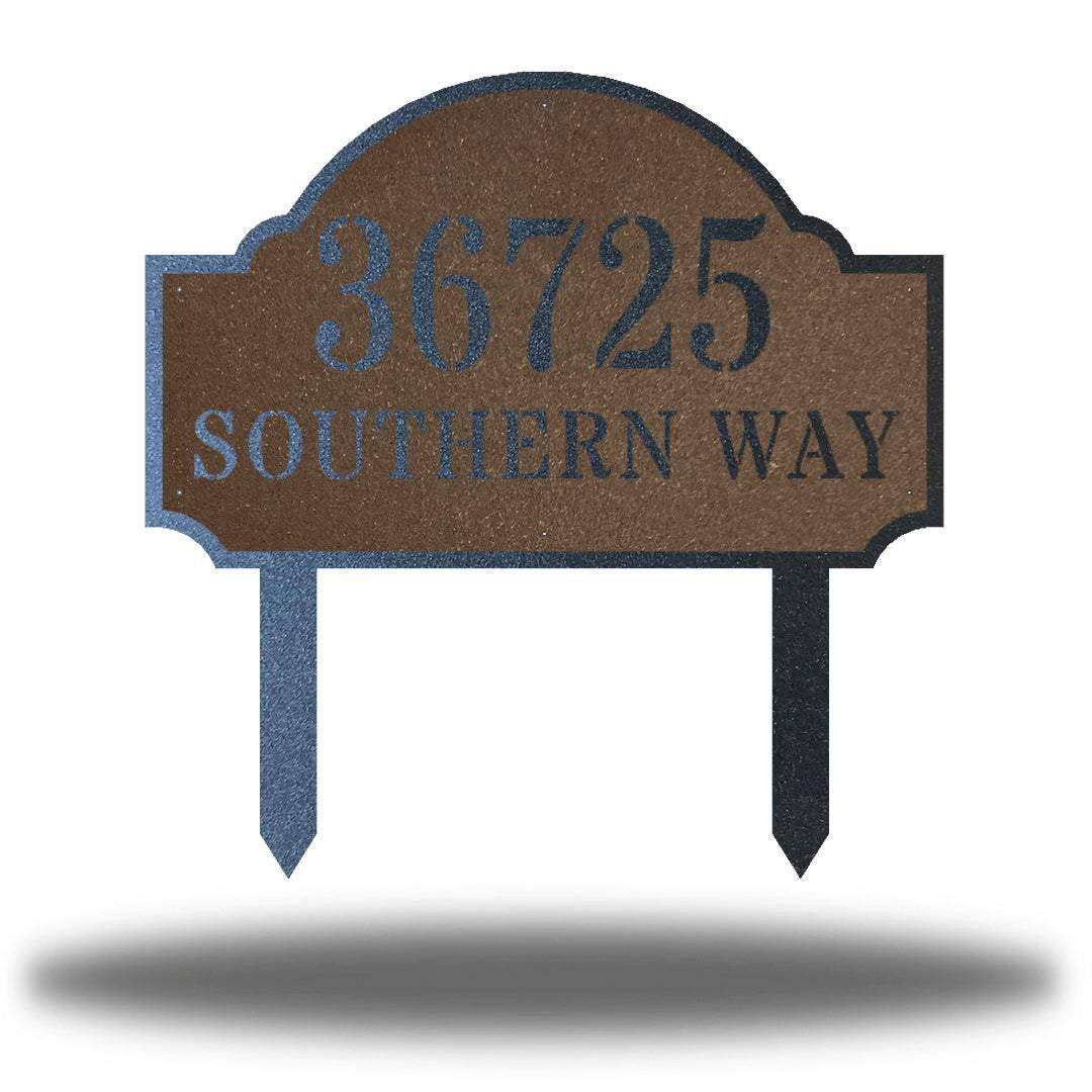Deluxe Address Sign