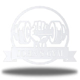 Dumbbell Monogram - Go Riverside Designs