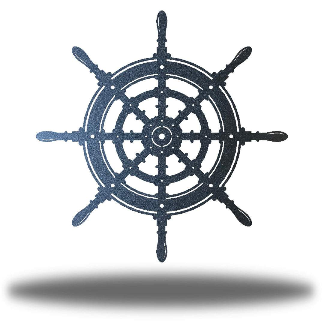 Ship Wheel - Go Riverside Designs