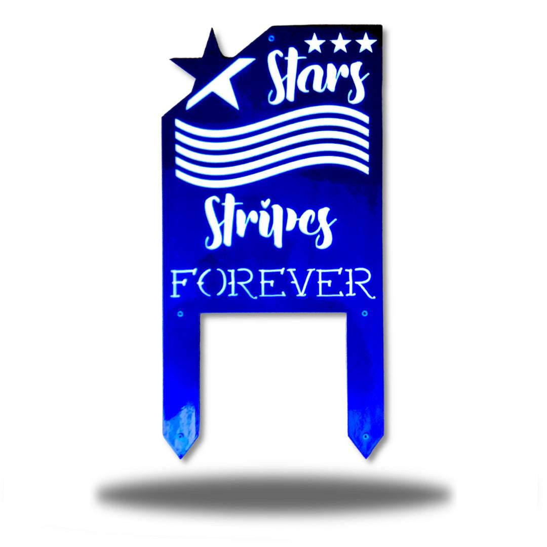 Stars & Stripes Yard Stake