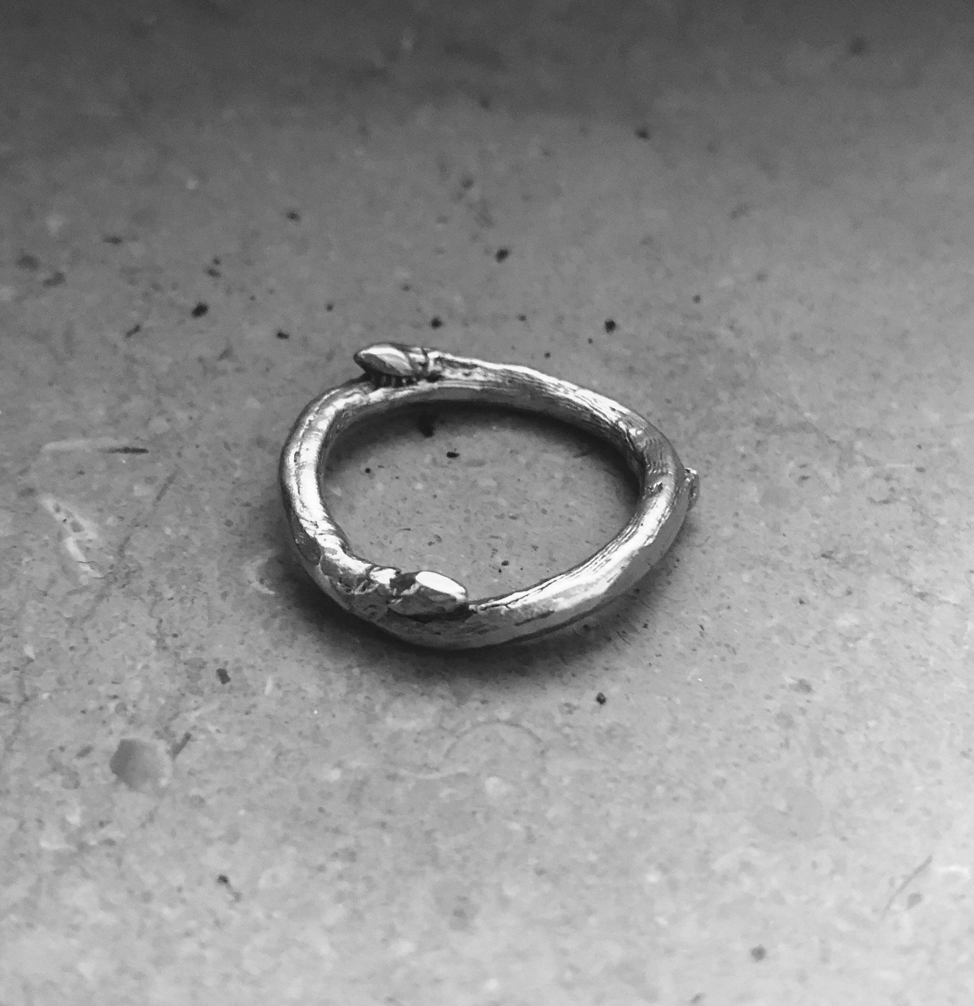 The branch ring - Silver