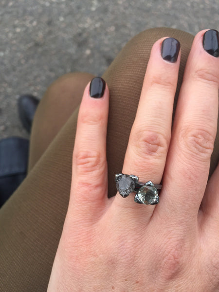 The cone ring - Mini - Silver