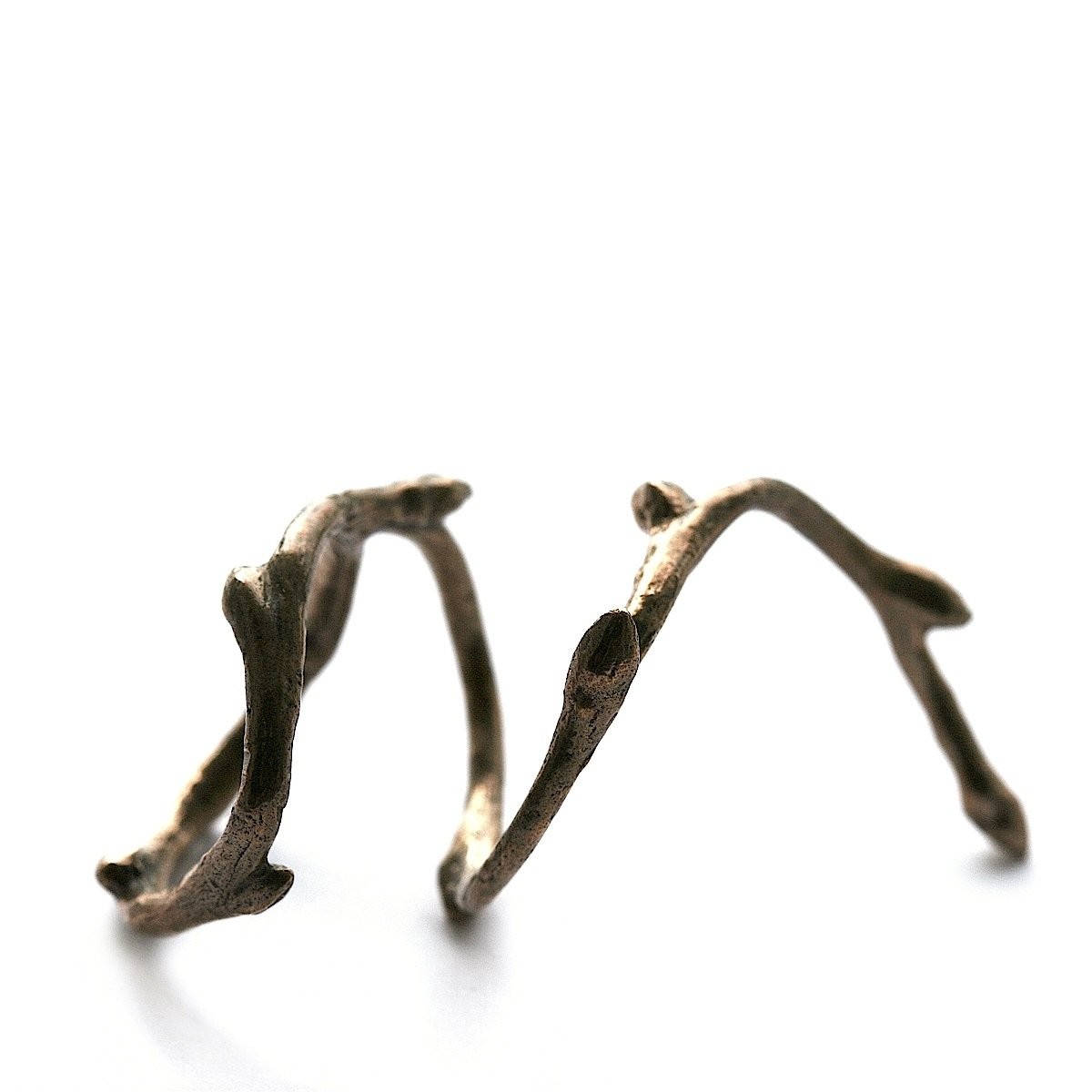 The snake-branch ring - Bronze