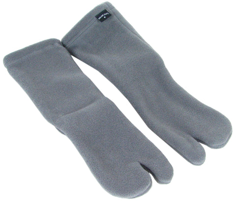 Polar Feet® Fleece Tabi Socks - Soft Grey