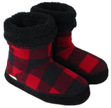 Polar Feet® Women's Snugs™ Buffalo Plaid