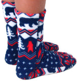 Kids' Fleece Socks - Polar Bear