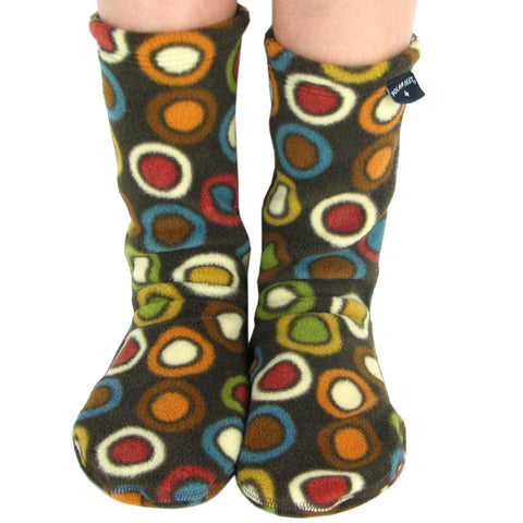 Kids' Fleece Socks - Bubble Tea