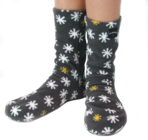 Kids' Fleece Socks - Cosmos