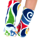 Polar Feet Kids Nonskid Fleece Socks - Curlz