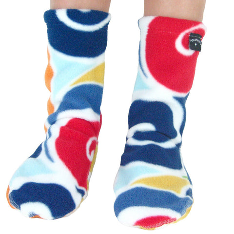 Polar Feet Kids Fleece Socks - Curlz
