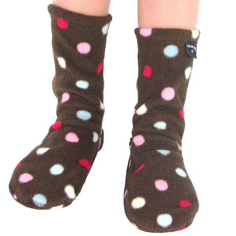 Polar Feet Kids Fleece Socks - Smarties